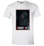 Resident Evil 2 Remake - Zombie Cop White (T-SHIRT Unisex )