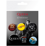 Queen: Button Badges Mix (Badge Pack)