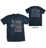 T-shirt Johnny Cash unisex - Design: All Star Tour