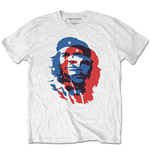 T-shirt Che Guevara unisex - Design: Blue and Red