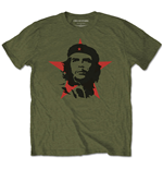 T-shirt Che Guevara unisex - Design: Military