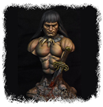 Miniature E Modellismo Conan The Barbarian 1/8 Bust