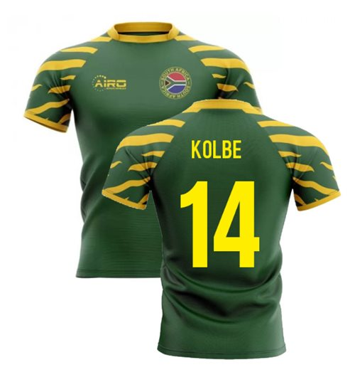 T-shirt Sud Africa rugby 2019-2020 Home
