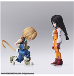 Action Figure Ffix Bring Arts Zidane & Garnet 17TH Set