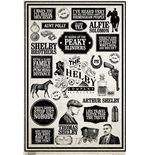 Peaky Blinders: Infographic (Poster Maxi 61X91,5 Cm)