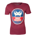 Space INVADERS: Round Invader Red (T-SHIRT Unisex )