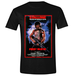 RAMBO: First Blood Poster Black (T-SHIRT Unisex )