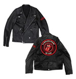 Rolling Stones (THE): ZC15 Leather (giacca Moto Unisex )
