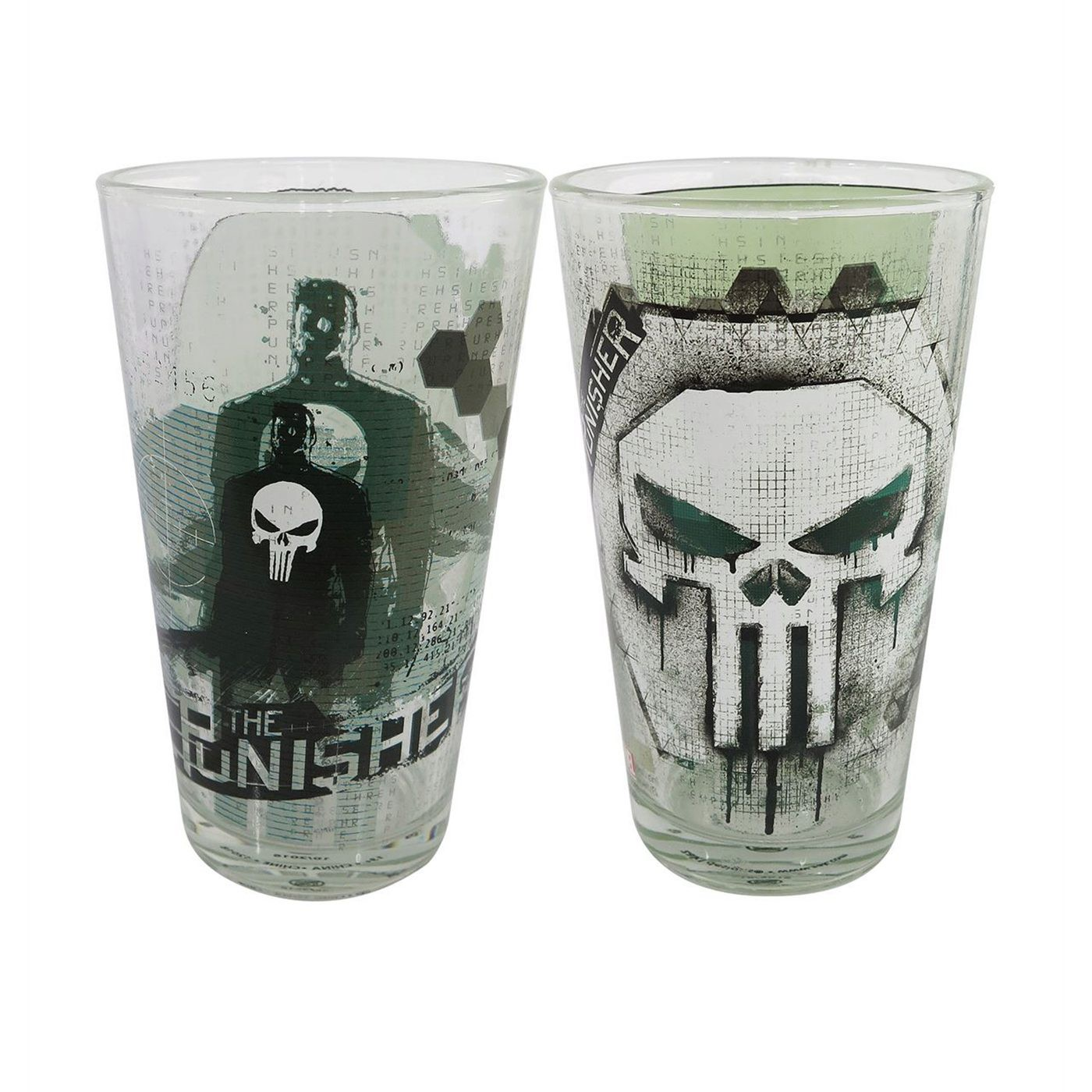 Set di bicchieri The punisher
