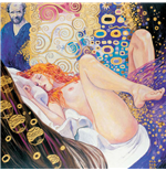 Stampa Su Tela Manara Art On Canvas Klimt Gift Box
