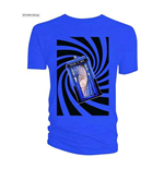 Doctor WHO: Tardis Blue Swirl (T-SHIRT Uomo )