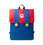Nintendo: Super Mario - Mario Denim Suit Flap Blue (Zaino)