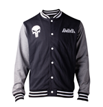 MARVEL: The Punisher Varsity Baseball Multicolor (giacca Unisex )
