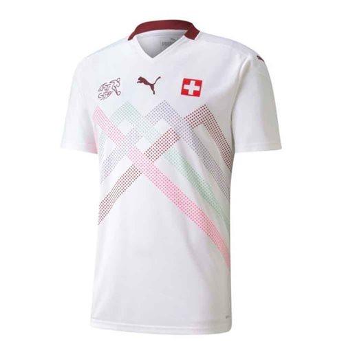 Maglia Svizzera calcio 2020-2021 Away
