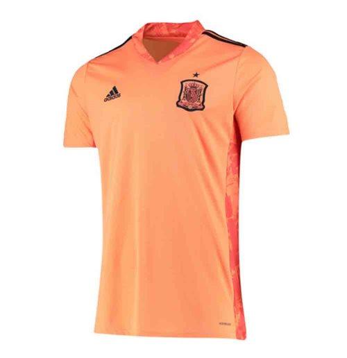 Maglia da portiere Spagna calcio 2020-2021 Home (Arancio)