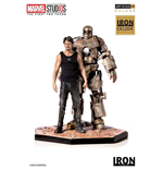 Statua Tony Stark & Mark I Mcu 10 Years 1/10 St
