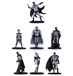 Mini Figura Batman B&W Mini Pvc Fig S.2 7-PACK