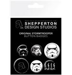 Star Wars: Original Stormtrooper: Mix (Badge Pack)