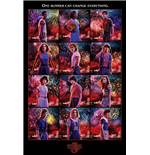 Stranger Things (Character Montage) Maxi Poster