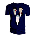 Doctor WHO: 10TH 11TH 12TH Vector Triangle (T-SHIRT Uomo )