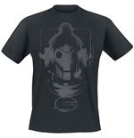 Doctor WHO: Cyberman Head (T-SHIRT Uomo )