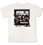One DIRECTION: Made In The A.M. White (T-SHIRT Unisex )