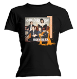 One DIRECTION: Skinny Fit Made In The A.M. Black (T-SHIRT Donna )