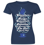 Doctor WHO: The Tea Is Getting Cold (T-SHIRT Donna )