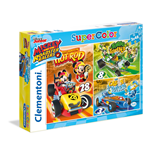 Puzzle 3x48 Pz - Mickey Roadster Racers