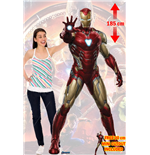 Sagomato Lifesize Endgame Iron Man Cutout