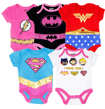 Body neonato Justice League da neonati