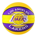 Los Angeles Lakers Pallone Ufficiale GIALLO/VIOLA