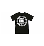 Kill BRAND: Swag Logo Circle (BLACK) (T-SHIRT Unisex )