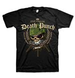 Five Finger Death PUNCH: War Head With Back Printing (T-SHIRT Unisex )