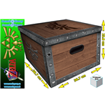 Accessori The Legend Of Zelda Chest Storage Box