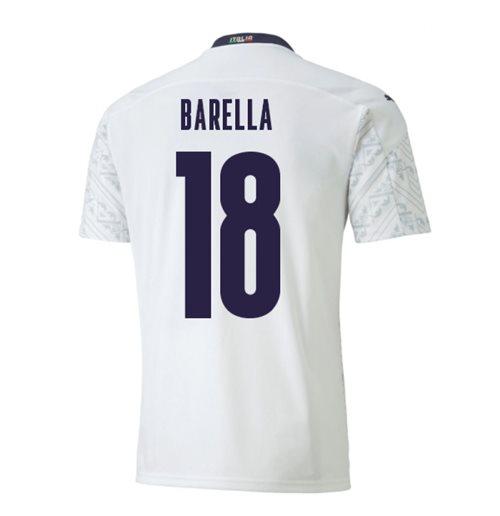 Maglia Italia Calcio 2020-2021 Away