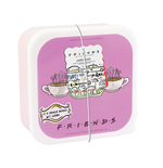 Friends: Snack Boxes Set (Set 3 Snack Box)