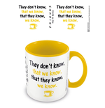 Friends: We Know -Coloured Inner Mug- (Tazza)