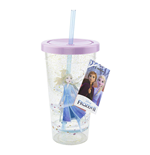 Disney: Frozen 2 -Cup And Straw- (Bicchiere Con Cannuccia)