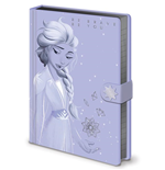 Disney: Frozen 2 - Lilac Snow -Premium A5 Notebook- (Quaderno)