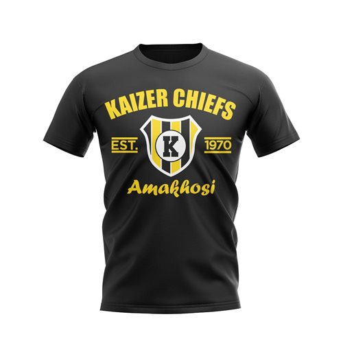 T-shirt Kaizer Chiefs (Nero)