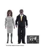 Action Figure They Live Clothed Af 2 Pack