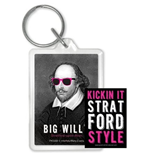 William Shakespeare: Big Willy -Rubber Keychain- (Portachiavi Gomma)