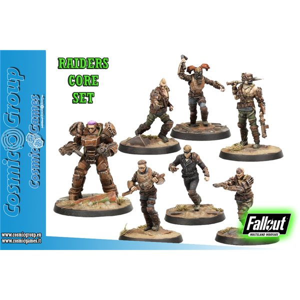 Wargame Fww Raiders Core Set