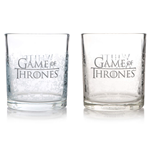 Glasses Set Of 2 (Tumblers) - Game Of Thrones (White Walker)