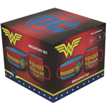 Dc Comics: Wonder Woman (Set Colazione)