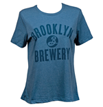 T-shirt Brooklyn Brewery da donna