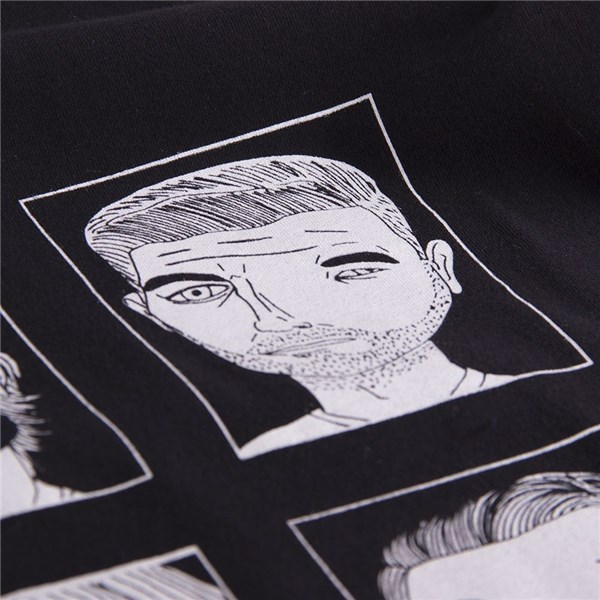 T-Shirt Badly Drawn Footballers