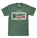 T-shirt Mountain Dew da uomo