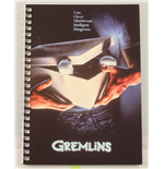 Taccuino Gremlins Movie Poster Spiral Notebook